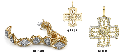 Custom Jewelry Design - Transformation