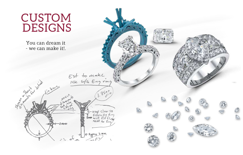 Mars fine jewelry custom jewelry design for Custom design services